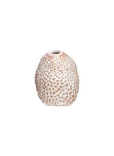 Warm Design Porselen Vazo Kahve
